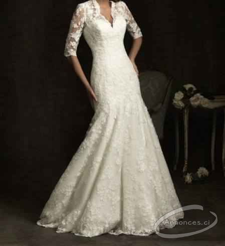 Location robe de mariee et accesoires [30000 FCFA] : Annonce N°4883 ...
