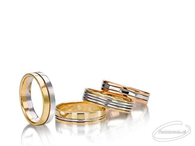 Bague De Mariage En Or 18 Carats 150000 Fcfa Annonce N