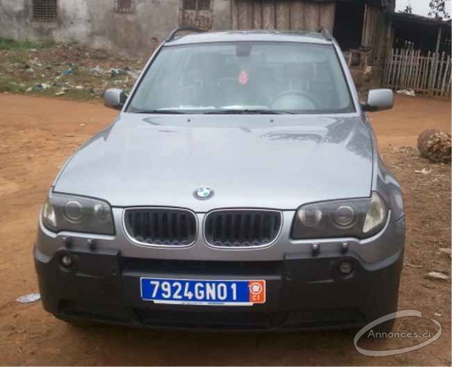 bmw x3 full option automatique 12500000 fcfa annonce n 14070 sur. Black Bedroom Furniture Sets. Home Design Ideas