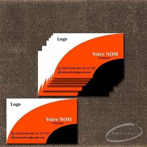 Promo Impression Cartes De Visite Professionnelles Annonce N37372