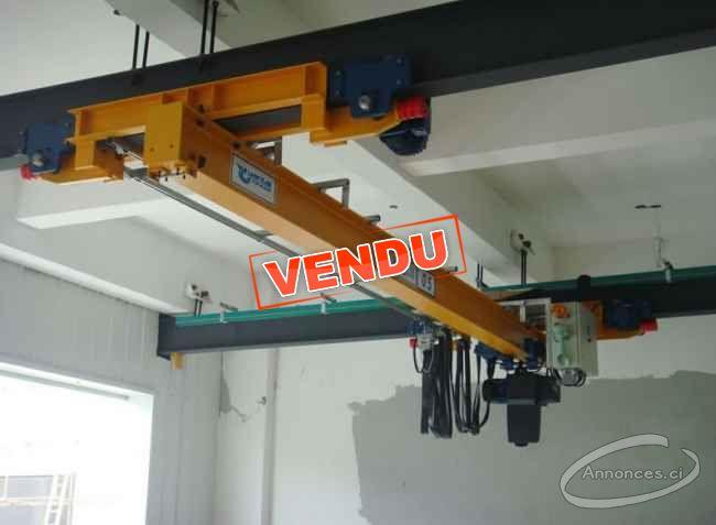 Vente De Pont Roulant Monopoutre Suspendu Annonce N 176 7663