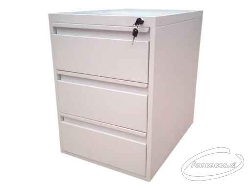Vente de meuble & mobilier de bureau rangement métallique